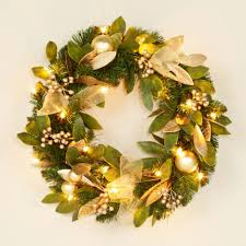 accessories stunning round gold and green bayleaf hand made top notch fresh bayleaf wreath decoration for christmas interior design ideas stunning round gold and
