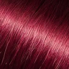 tape in hair extensions in dark purple things