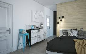 eclectic style bedroom modern bedroom design with walk in closet and decorating ideas in