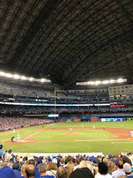 rogers centre section 118r home of toronto blue jays toronto