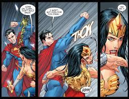 Superman Better Than Batman Memes - superman vs wonder woman injustice gods among us comicnewbies