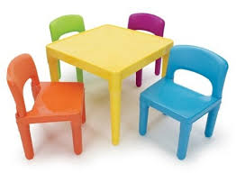 Plastic Table And Chairs Kids Plastic Table And Chair Set All Chairs Design