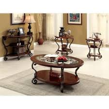 Cherry Accent Table Oval Coffee Console Sofa U0026 End Tables Shop The Best Deals For