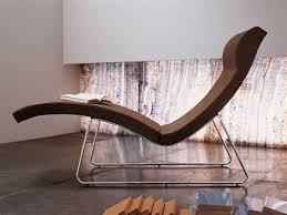 chaise longue d int rieur chaise longue relax intrieur gallery of chaise longue en cuir tissu