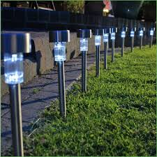 led l post light solar led lights outdoor hommum com
