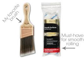 best brush for painting cabinets how to get a modern finish with chalk paint brush strokes paint