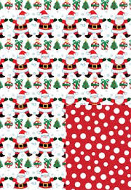 reversible christmas wrapping paper look at this zulilyfind playful santa jumbo wrapping paper roll