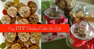 easy diy christmas cookie jar gift make it blissful