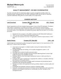hvac resume exles sle resume for mechanical quality assurance engineer best of