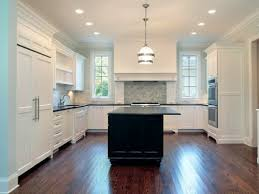 Kitchen Designs White Cabinets Popular Modern White Kitchen Floor