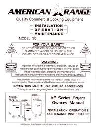 af freidoras instalacion thermostat valve