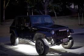 jeep wrangler rock lights 8 pod rgb off road led rock lights diy color bluetooth led rock