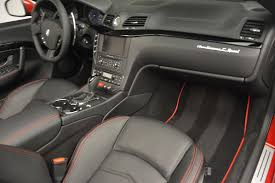 maserati quattroporte interior black 2017 maserati granturismo cab sport stock m1639 for sale near