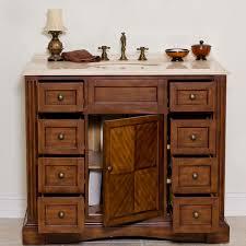 aber 42 inches stanton traditional bathroom vanities solid oak wood