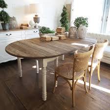 tavolo ovale legno tavolo ovale new vintage white orchidea in vendita su atmosphere