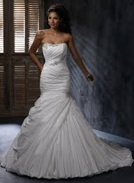 mermaid wedding dresses 2011 scoop fitted beaded mermaid trumpet wedding dresses 2011