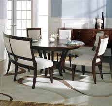 home design dazzling curved dining bench with back minimalist