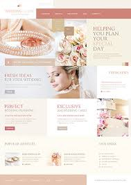 wedding planning website wedding most popular joomla template 44309 template