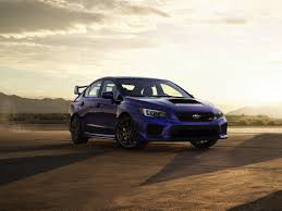 subaru stance subaru debuts 2018 wrx and wrx sti with performance comfort and