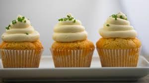 cupcakes recipe three cheese cupcakes recipe genius kitchen