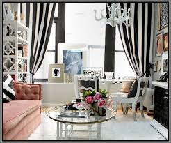Black And White Stripe Curtains Black And White Striped Curtains 9 Cool Stuff Pinterest