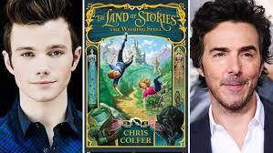 chris colfer shawn levy tackling u0027the land of stories u0027 movie for
