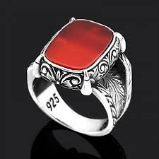 silver ring for men made men silver ring turkstyleshop from netherlands