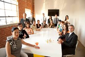 24 crazy beautiful ad agency staff photos group photography