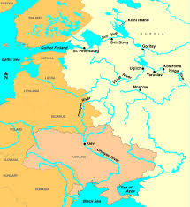 map of europe and russia rivers easteur