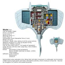 Starship Floor Plan Skate Class Raider Trader 100 Tons Starship By Michaeltumey On