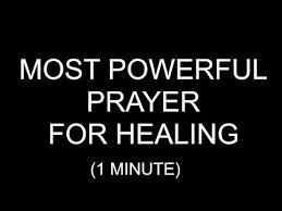 white light healing prayer most powerful prayer for healing 1 minute youtube