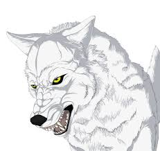 easy wolf drawings clip art library