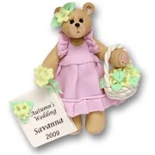 flower girl christmas ornament belly flower girl christmas ornament