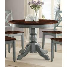 Round Dining Sets Mainstays 5 Piece Glass And Metal Dining Set 42