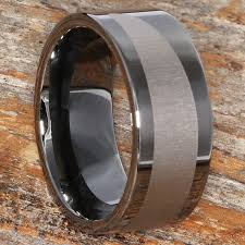 unique metal rings images Trojan gunmetal black ice unique rings forever metals jpg