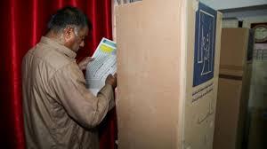 baise au bureau en irak des élections législatives cruciales pour la reconstruction