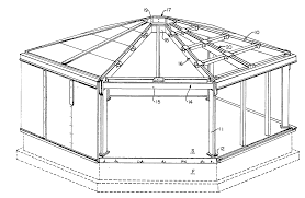 Prefabricated Roof Trusses Analytics For Us Patent No 4275534 Hexagonal Building Structures