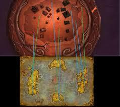 kalimdor map pre sundering kalimdor map