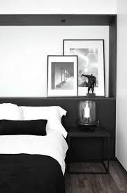 chambre noir et blanc design impressionnant chambre blanche et noir et chambre noir et blanc