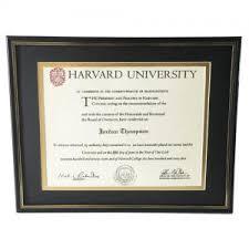 harvard diploma frame buy diploma frame modern diploma frames for sale custom diploma