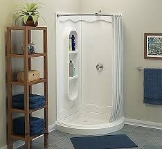 Corner Shower Curtain Curtains Custom Shower Curtain Rods Curved New Interior Corner