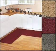 corner cabinet kitchen rug 68 x 68 kitchen corner mat rug textured berber runner non skid back home new ebay