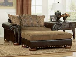 Ashley Furniture Armchair Lazy Boy Chair And A Half With Ottoman Small Space Therapy