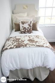 bed sets for teenage girls tan cowhide designer teen bedding set rustic farmhous