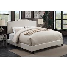 American Woodcrafter American Woodcrafters Barron Taupe King Upholstered Bed U31205