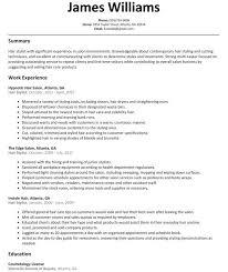 Waiter Job Description Resume by Resume Customer Service Resume Template Case Brief Template Word