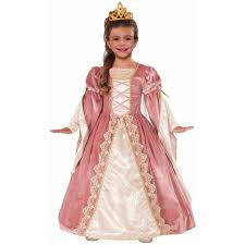 Girls Kids Halloween Costumes Victorian Rose Girls U0027 Child Halloween Costume Walmart
