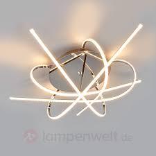 Wohnzimmer Lampen G Stig Individuell Gestaltete Led Deckenlampe Hanne Günstig Kaufen