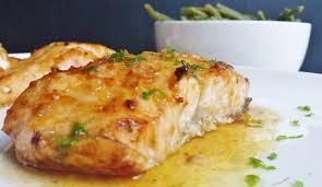 cuisiner du saumon recette de saumon glacé au miel et citron vert la recette facile