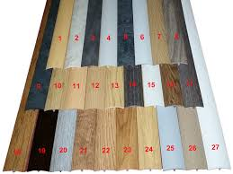 Laminate Flooring Threshold Trim Made To Order Laminate Threshold Strips Any Colour Adjust Height